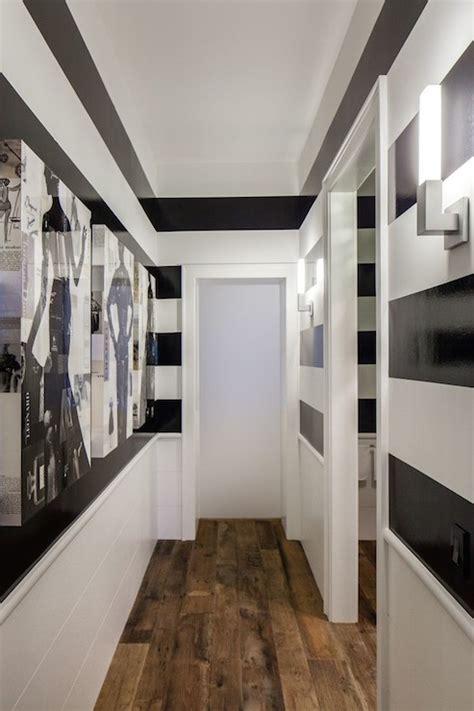 black and white striped wall horizontal striped walls design ideas