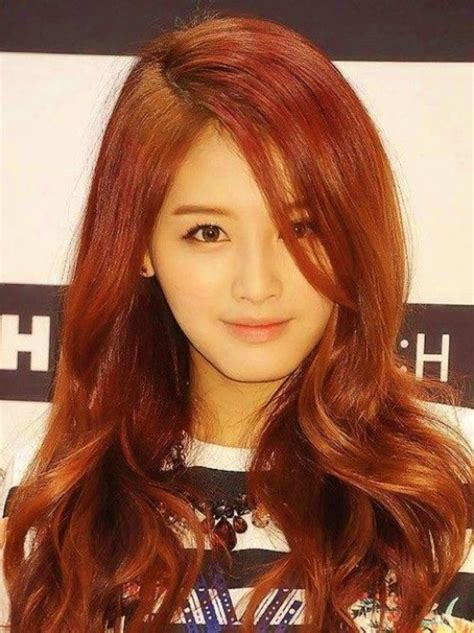 hair colors for asian the best hair colors for asians