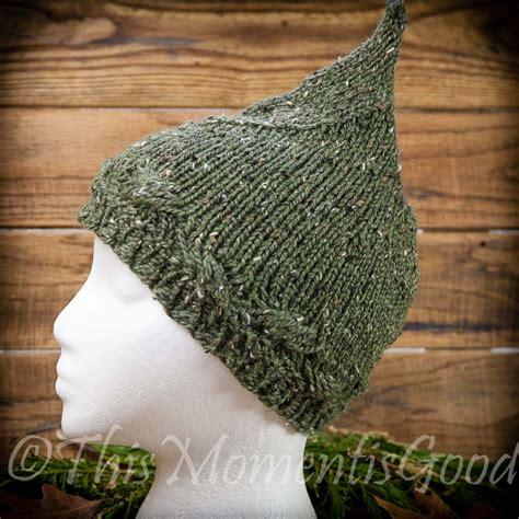 knitting pattern elf hat loom knit pixie hat pattern ladies teen pixie hat elf
