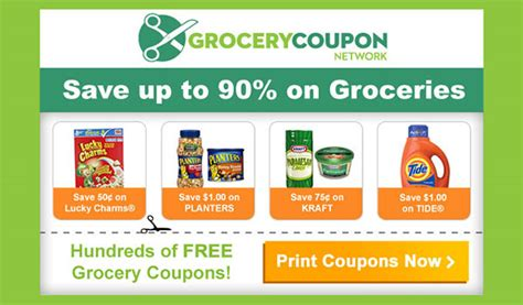 grocery coupon network us only