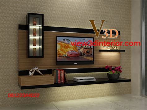 Rak Tv Unik dinding kayu minimalis studio design gallery best