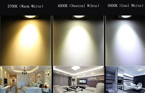 Warm White Led Light Bulbs Led Lights Warm White Neutral White Cool White White Downlight Retrofit Downlight Kit
