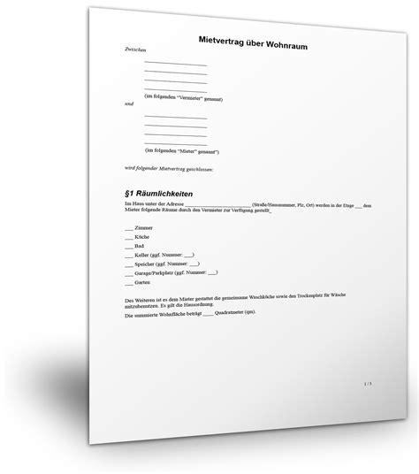 Muster Kündigung Mietvertrag Durch Vermieter Kostenlos Mietvertrag Wohnung Muster Standardvertraege De