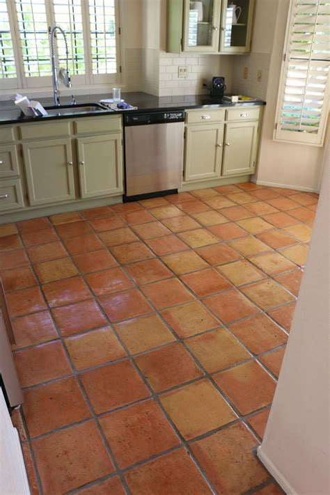 spanish for floor dusty coyote stripping and sealing a saltillo tile floor