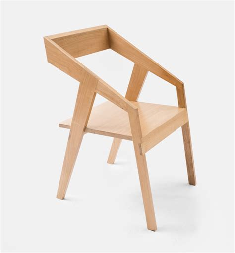 Handmade Wood Chairs - handmade wooden furniture by collaptes design milk