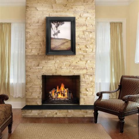 fireplaceinsert vented vented napoleon gas log set