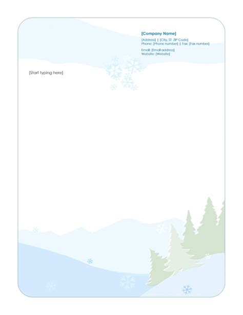 download stationery letterhead template word letterhead