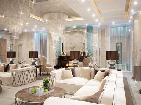 professional villa interior design  qatar  antonovich