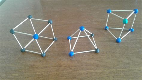 figuras geometricas hechas con palillos los viernes no hay clase cuerpos geom 233 tricos con