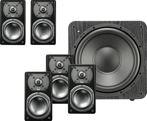 Speaker Satelit 2way svs prime 4 1 2 quot powered 2 way center channel speaker