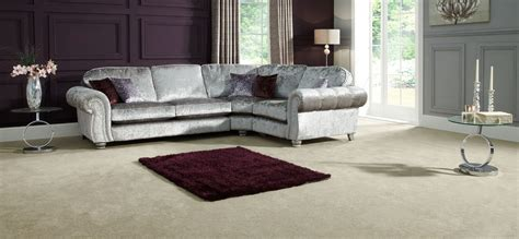 Ex Display Scs Brown Fabric Endurance Leather Curved Scs Leather Corner Sofas