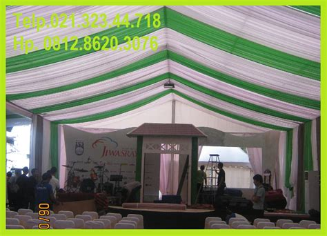 Tenda Dekor sewa tenda bebas broker rent roder tent for spesial ceremony in bekasi