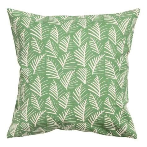 leaf pattern cushions how to decorate with green red online