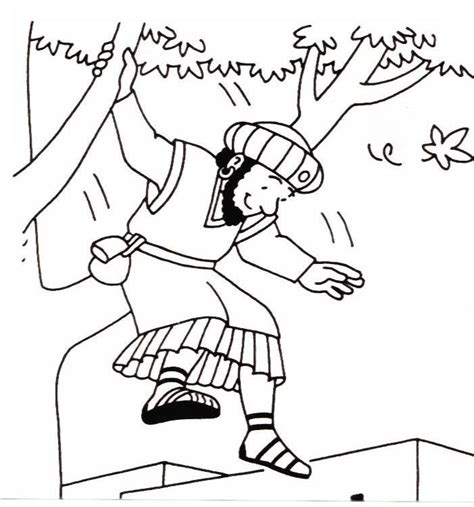 coloring pages story zacchaeus google image result for http www biblekids eu new