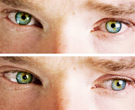 benedict cumberbatch eye color oo for martin freeman oo the magical eye color of