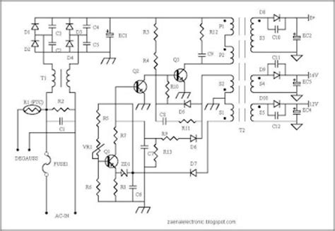transistor regulator tv samsung protectors circuit on smps power supply circuit harness wiring