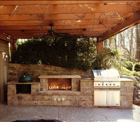 Design Your Own Kitchen Island Online cincinnati ohio outdoor fireplace and built in grill