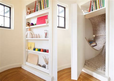 librerie poco profonde come nascondere o coprire una porta