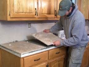 diy tile countertop how to