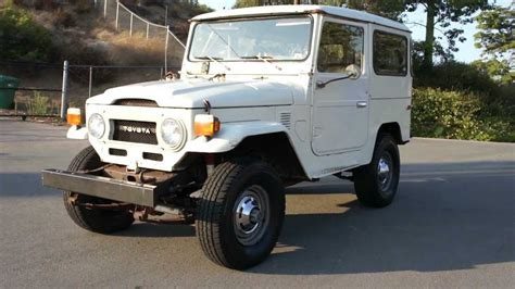 toyota jeep fj40 land cruiser toyota 5 800 original miles paint jeep