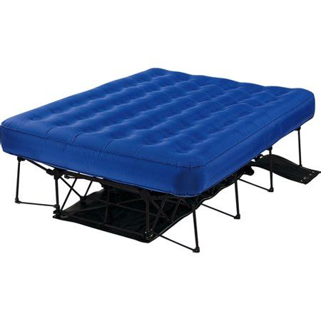 insta bed tm automatic frame system and 9 air bed walmart