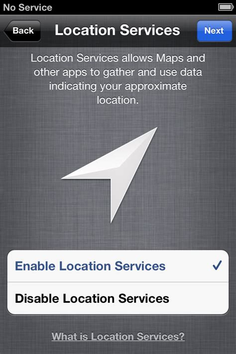 iphone location services how to setup your new iphone 4s imore