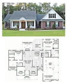 25 best ideas about ranch house plans on pinterest country style house plan 4 beds 3 00 baths 2151 sq ft
