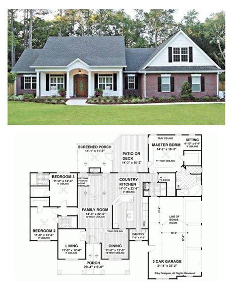 house plans with living room in front 25 best ideas about ranch house plans on