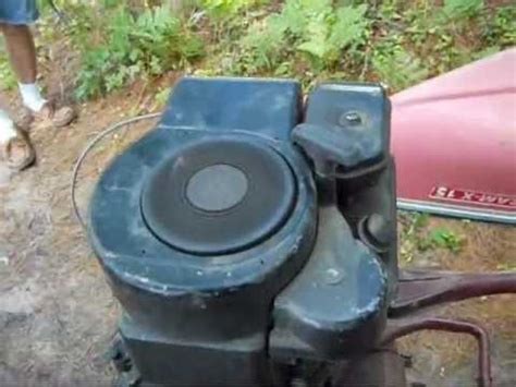 lawnmower boat motor homemade lawnmower boat motor youtube