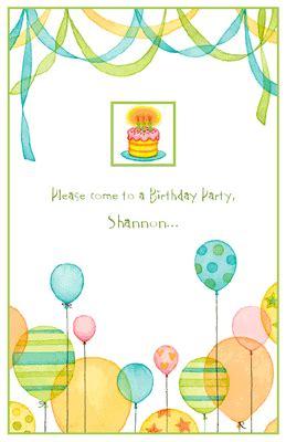 quot special invitation quot birthday printable card blue balloon invitation invitation happy birthday printable