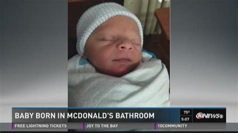 baby born in bathroom baby born in mcdonald s bathroom wtsp com