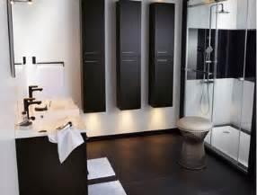 d 233 co design pour salle de bain noir et blanc