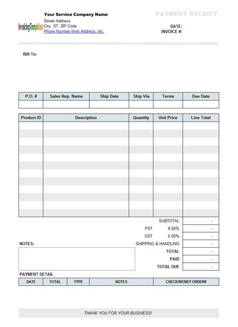 exle of invoice for services rendered hardhost info