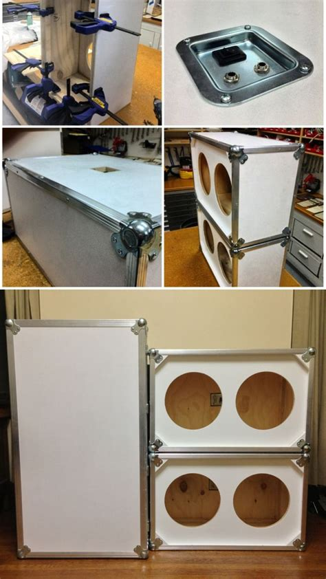 2 12 guitar cabinet build your own 2 215 12 guitar speaker cabinet cabinets matttroy