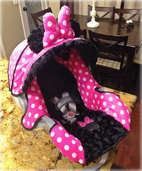 minnie mouse car seat and stroller set at walmart minnie mouse graco snugride 30 custom carseat cover my