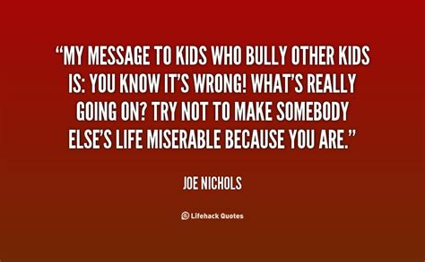 bullying messages or quotes quotesgram