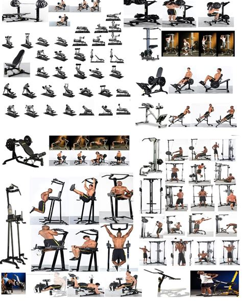 Exercice Musculation Banc by Machine Musculation Exercice Vigilance Envers L Adversaire