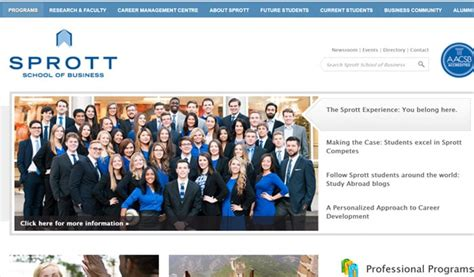 Sprott School Of Business Mba by 130 Site Exles Of Big Brands In 2018