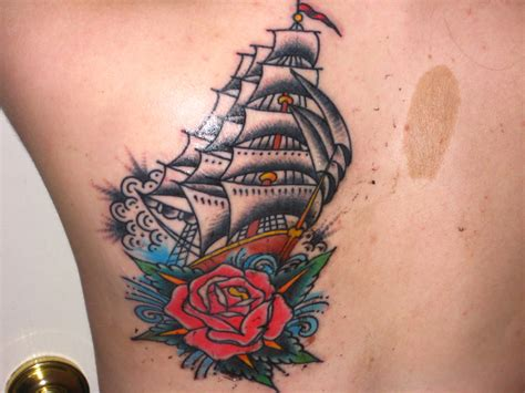 traditional pirate ship tattoo traditional tattoos designs ideas and meaning tattoos