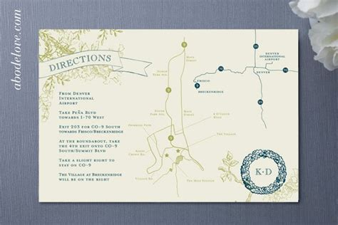printable directions for invitations 21 best images about maps for wedding invitations on