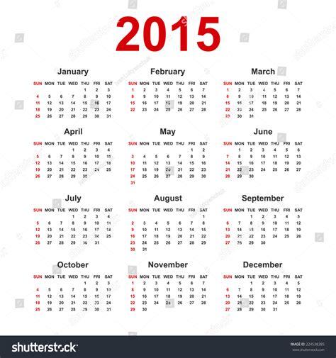 2014 weekly notes 2pg calendar euro week starts simple european 2015 year blank calendar with holiday mark