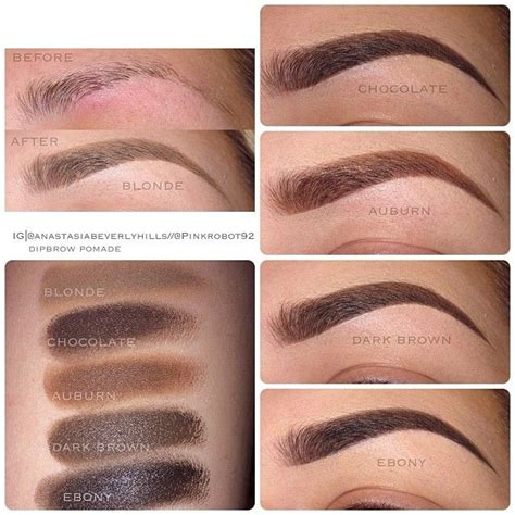 Pomade Eyebrow best 25 dipbrow pomade ideas on