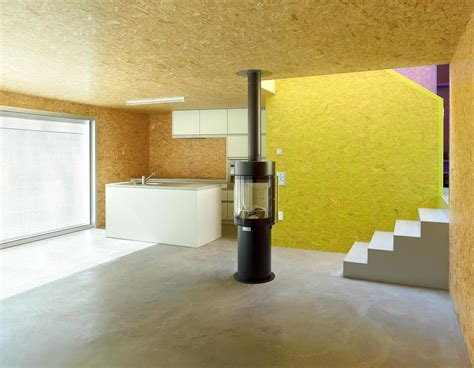 Mountain Home Interiors Pre Fabricated House With Painted Osb Panels