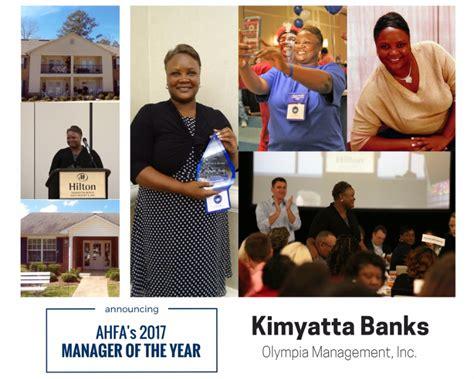alabama housing finance authority kimyatta banks 2017 manager of the year alabama housing finance authority