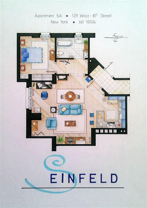 seinfeld apartment floor plan 28 jerry seinfeld s apartment floorplan floor plans