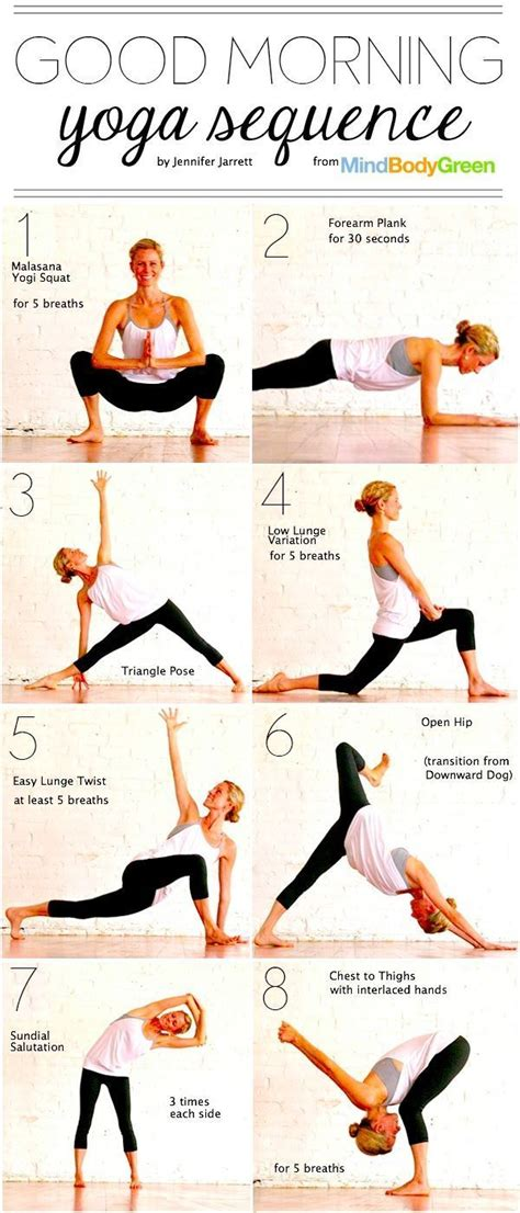 tutorial de yoga good morning yoga sequence pictures photos and images