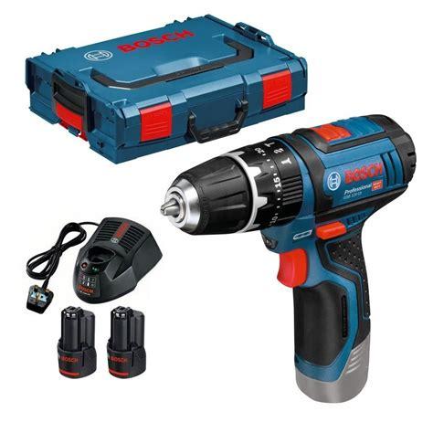 Bosch Gsb 10 8 2 Li bosch gsb 10 8 2 li 12v 15 cordless combi drill inc 2x 2