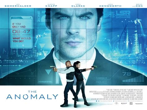 The Anomaly 2014 The Anomaly Trailer Ian Somerhalder Sci Fi Movie Cfy