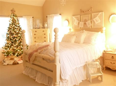 christmas bedrooms stylish christmas bedroom decorating ideas style estate