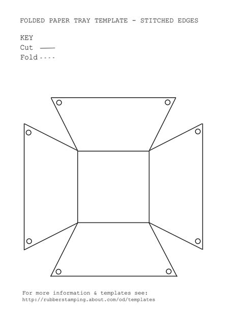 Paper Folding Box Template - 17 best images about printable templates on